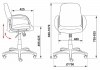 Кресло CH-808-LOW