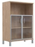 Шкаф стекло ал.рама B 420.4
