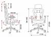 Кресло руководителя Бюрократ CH-999 ASX